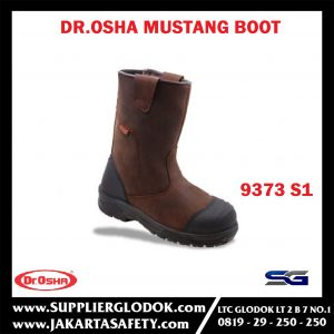 Mustang Boot 9373 S1 Composite Toe Cap – Dr.OSHA Safety Shoes