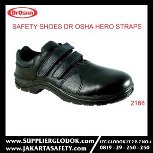 DR OSHA SAFETY SHOES TIPE Hero Straps 2188