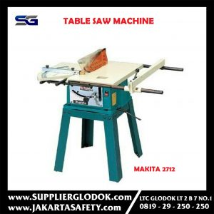 Heavy Duty Table Saw Machine Makita 2712 / Mesin Potong Meja Duduk