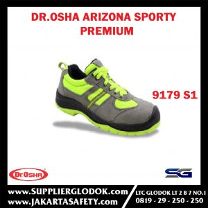 Arizona Premium Sporty 9179 S1 Composite Toe Cap – Dr.OSHA Safety Shoes