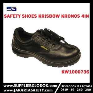 SEPATU SAFETY SHOES KRONOS 4IN (44-10) KRISBOW KW1000736