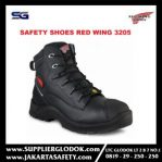 sepatu safety red wing 3205