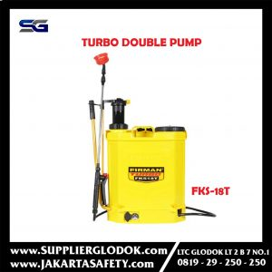 FKS18T Turbo double pump