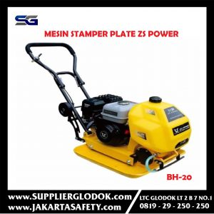Mesin Stamper Plate Compactor Only Zs Power BH 20