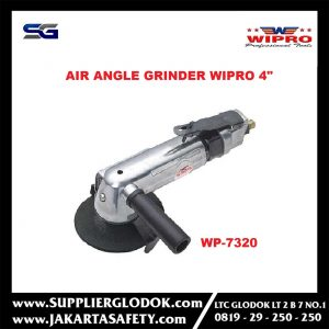 MESIN ALAT PL1D1851 AIR ANGLE GRINDER 4 INCH TRIGGER TYPE WIPRO WP7320