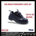 Paradise Lace Up Black 9171 S2 Waterproof Steel Toe Cap – Dr.OSHA Safety Shoes