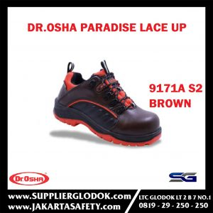 Paradise Lace Up Brown 9171a S2 Waterproof Composite Toe Cap – Dr.OSHA Safety Shoes