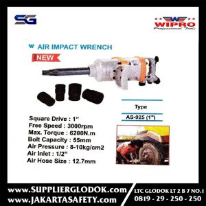 WIPRO – 1″ Air Impact Wrench Heavy Duty – AS- 925