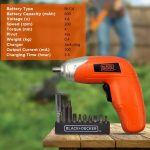 Black & Decker Screwdriver Blister KC3610-B1