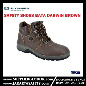 SEPATU BATA SAFETY SHOES DARWIN BROWN