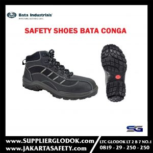 Sepatu Safety Shoes Bata Conga / Bata Industrial