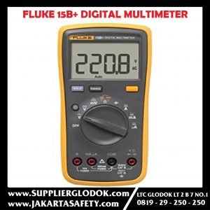FLUKE 15B+ DIGITAL MULTIMETER 600V ASLI 100%