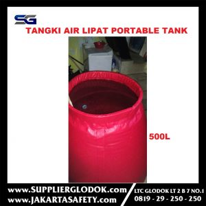 Tangki Air Lipat – Portable Tank – 500L