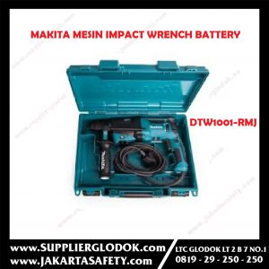 Mesin Impact Wrench Battery Makita DTW 1001 RMJ