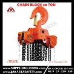 TOYO CHAIN BLOCK 30 TON