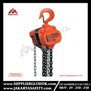 TOYO CHAIN BLOCK 1.5 TON