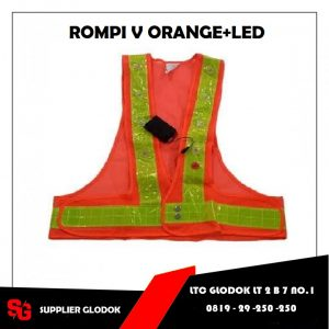 ROMPI JARING V ORANGE + LED NANKAI