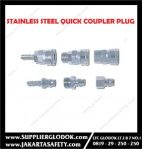 STAINLESS STEEL QUICK COUPLER PLUG 3/8″