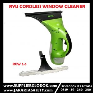RYU RCW 3.6 Cordless Window Cleaner/Pembersih Kaca Tanpa Kabel