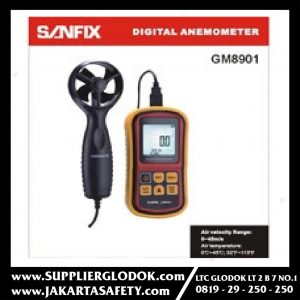 SANFIX DIGITAL ANEMOMETER/GM 8901
