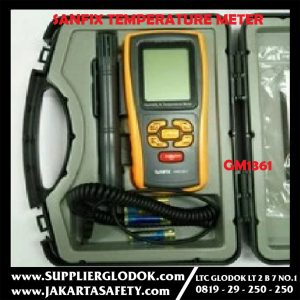 SANFIX HUMIDITY & TEMPERATURE METER/GM 1361