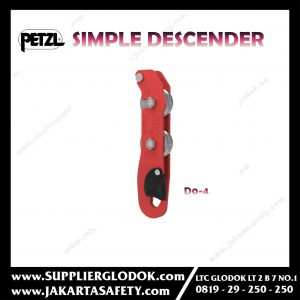 PETZL SIMPLE DESCENDER D0-4