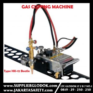 GAS CUTTING MACHINE WITH RAIL (OXY-FUEL) Type HK-12 Beetle