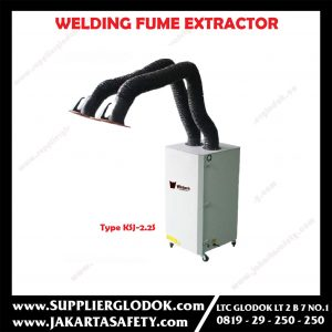 WELDING FUME EXTRACTOR FOR 1 WELDING BOOTH Type KSJ-2.2S