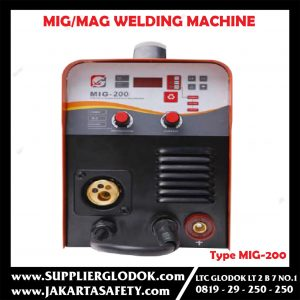 MIG/MAG WELDING MACHINE Product Feature Type MIG-200