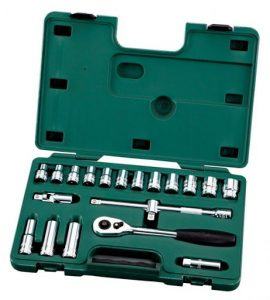 SATA 20PC. 1/2″DR. SOCKET SET (METRIC)